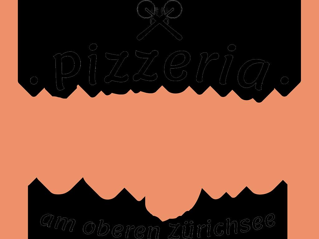 Schriftzug der Pizzeria Obergass